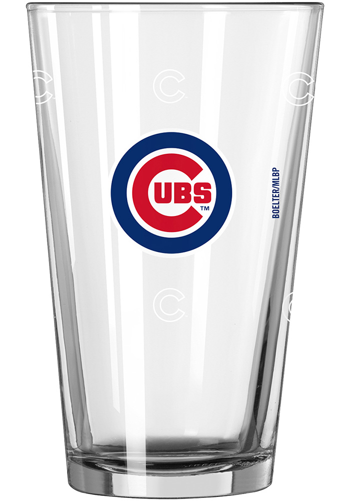 Chicago Cubs 16oz Color Changing Pint Glass - Image 1