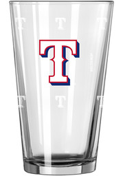 Texas Rangers 16oz Color Changing Pint Glass