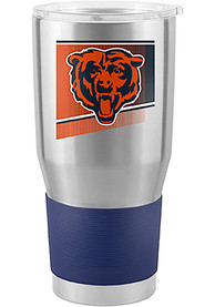 Chicago Bears Shield 30oz Ultra Stainless Steel Tumbler - Silver