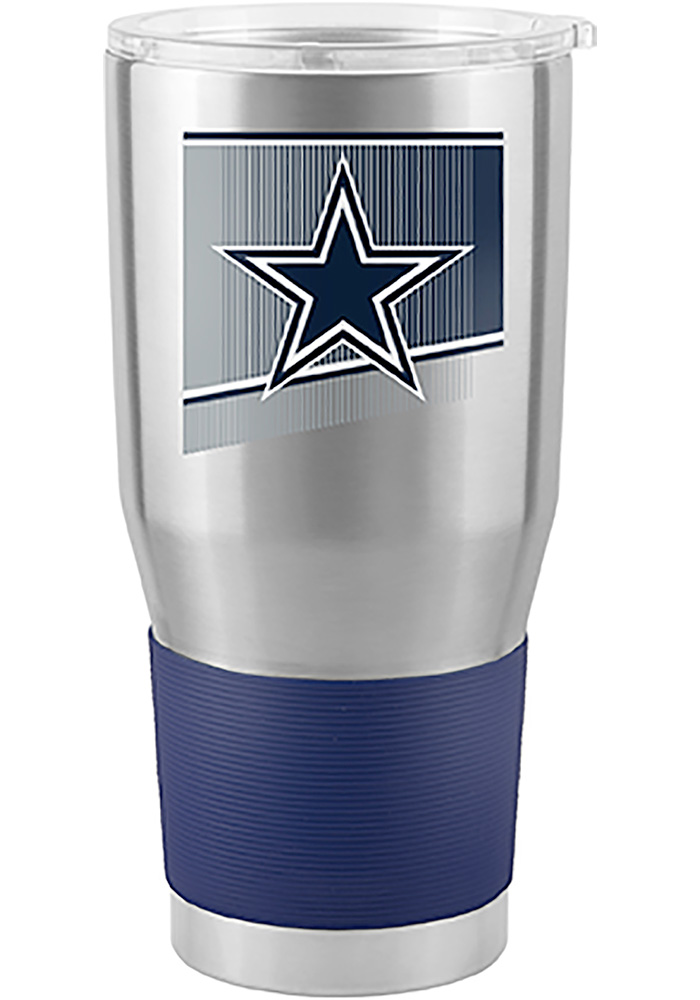 Dallas Cowboys Shield 30oz Ultra Stainless Steel Tumbler - Silver - Image 1