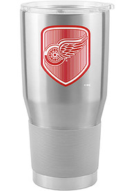 Detroit Red Wings Shield 30oz Ultra Stainless Steel Tumbler - Silver