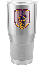 Cleveland Cavaliers Shield 30oz Ultra Stainless Steel Tumbler - Silver