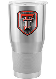 Texas Tech Red Raiders Shield 30oz Ultra Stainless Steel Tumbler - Silver