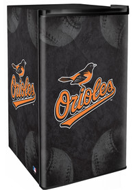 Baltimore Orioles Black Counter Height Refrigerator