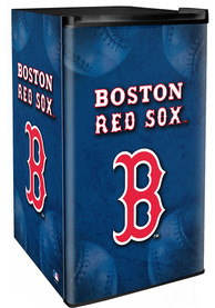 Boston Red Sox Blue Counter Height Refrigerator