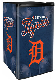 Detroit Tigers Blue Counter Height Refrigerator