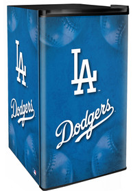 Los Angeles Dodgers Blue Counter Height Refrigerator