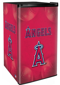 Los Angeles Angels Red Counter Height Refrigerator