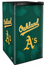 Oakland Athletics Green Counter Height Refrigerator