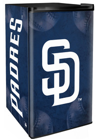 San Diego Padres Blue Counter Height Refrigerator
