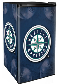 Seattle Mariners Blue Counter Height Refrigerator