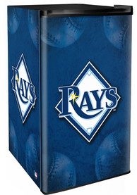 Tampa Bay Rays Blue Counter Height Refrigerator