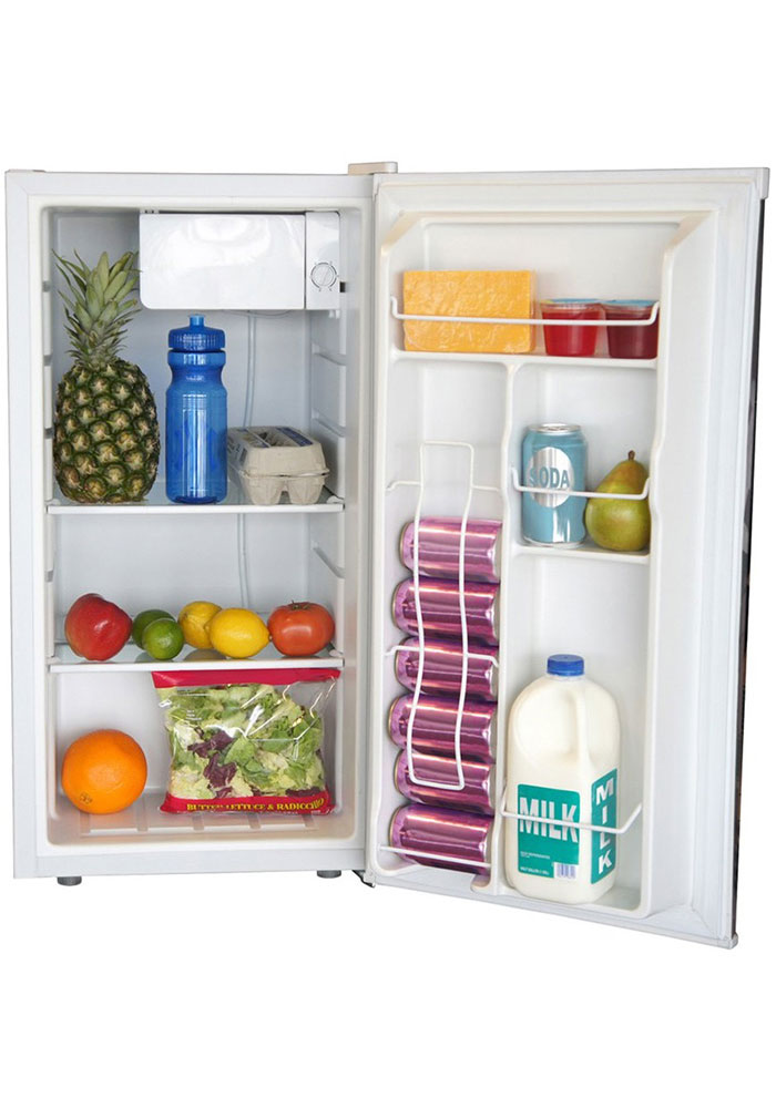 Washington Nationals Red Counter Height Refrigerator - Image 2