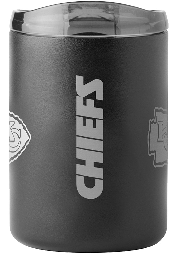 Kansas City Chiefs 15oz Ultra Powdercoat Mug Stainless Steel Tumbler - Black - Image 2