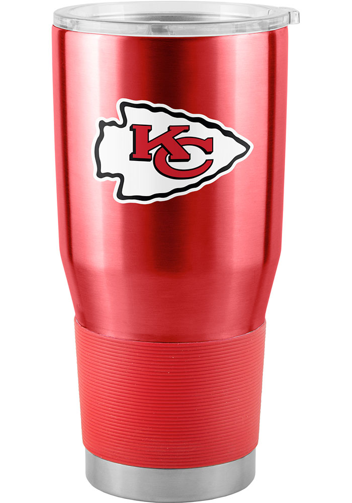 Kansas City Chiefs 30oz Ultra Stainless Steel Tumbler - Red - Image 1