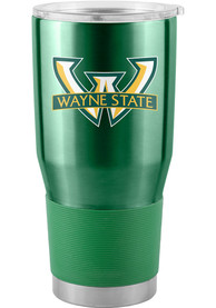 Wayne State Warriors 30oz Ultra Stainless Steel Tumbler - Green
