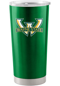 Wayne State Warriors 20oz Ultra Stainless Steel Tumbler - Green