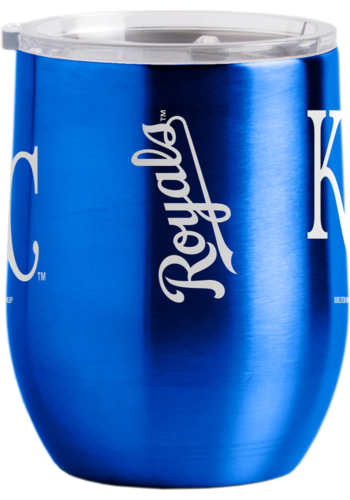 Kansas City Royals 16oz Curved Ultra Wine Stainless Steel Tumbler - Red - Image 2