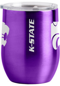 K-State Wildcats 16oz Curved Ultra Wine Stainless Steel Tumbler - Purple