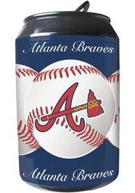 Atlanta Braves Navy Blue Portable Can Refrigerator