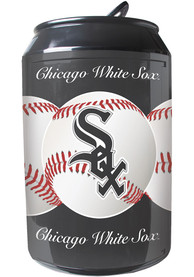Chicago White Sox Black Portable Can Refrigerator