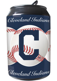 Cleveland Indians Navy Blue Portable Can Refrigerator