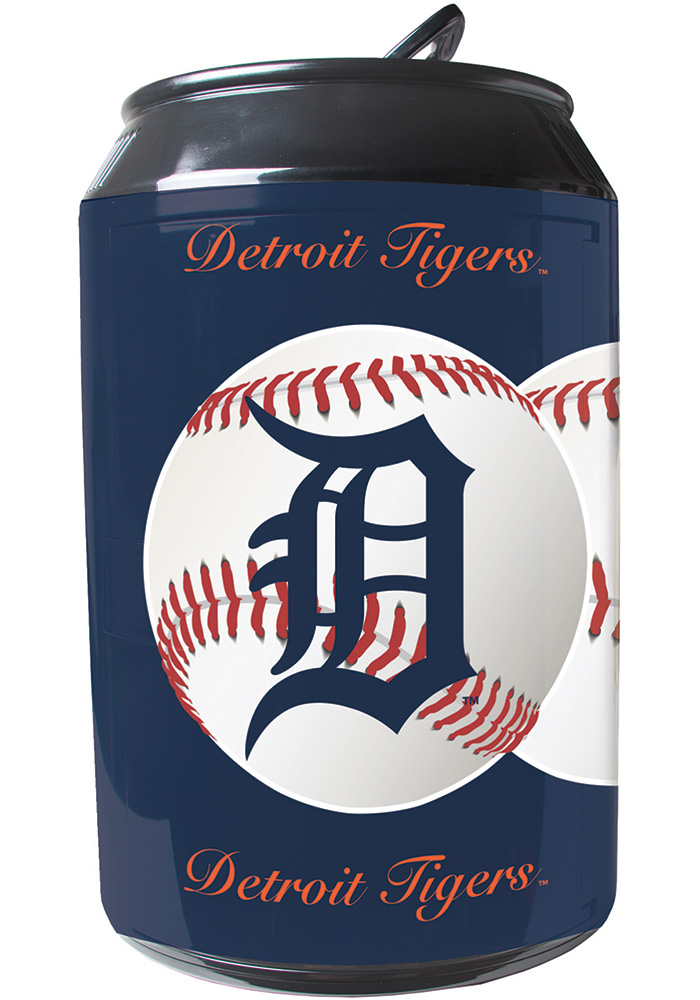Detroit Tigers Navy Blue Portable Can Refrigerator - Image 1