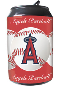 Los Angeles Angels Red Portable Can Refrigerator