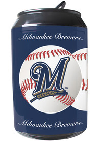 Milwaukee Brewers Navy Blue Portable Can Refrigerator