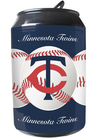 Minnesota Twins Navy Blue Portable Can Refrigerator