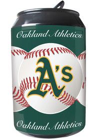 Oakland Athletics Green Portable Can Refrigerator