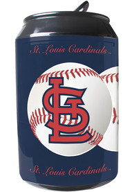 St Louis Cardinals Navy Blue Portable Can Refrigerator