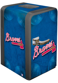 Atlanta Braves Blue Portable Party Refrigerator