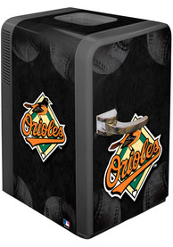 Baltimore Orioles Black Portable Party Refrigerator