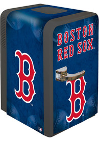 Boston Red Sox Blue Portable Party Refrigerator