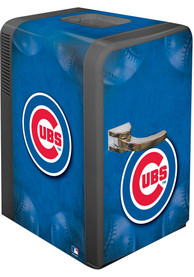 Chicago Cubs Blue Portable Party Refrigerator