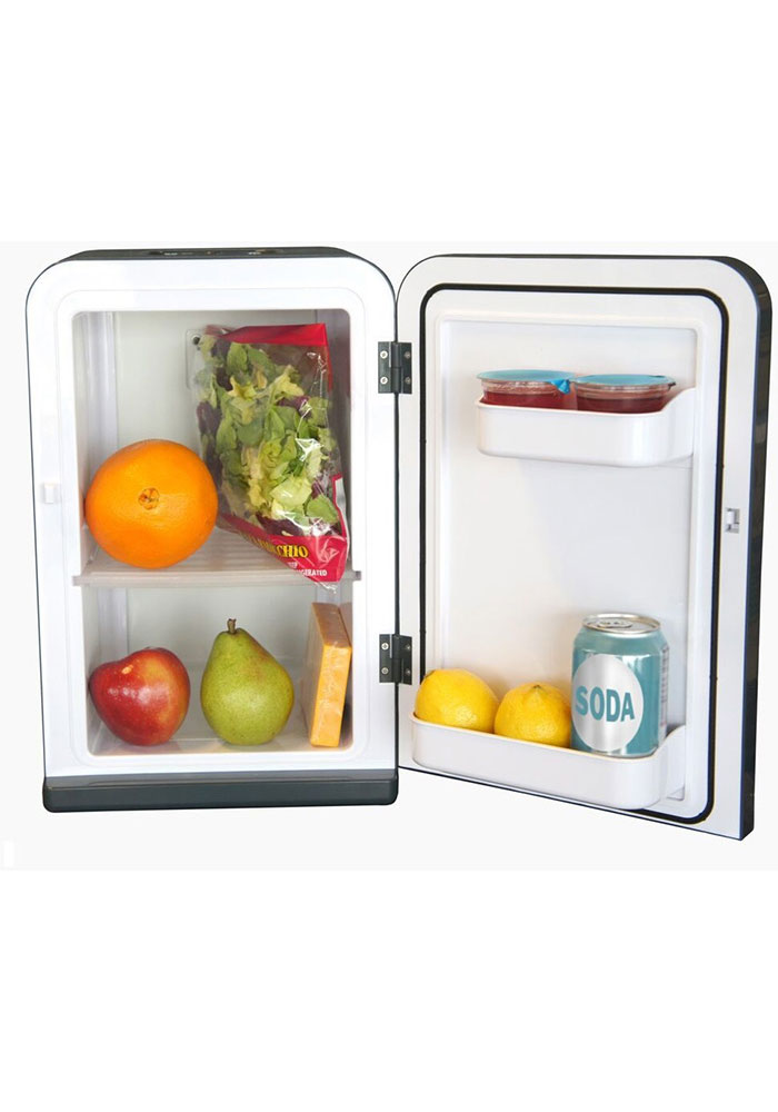 Milwaukee Brewers Blue Portable Party Refrigerator - Image 2