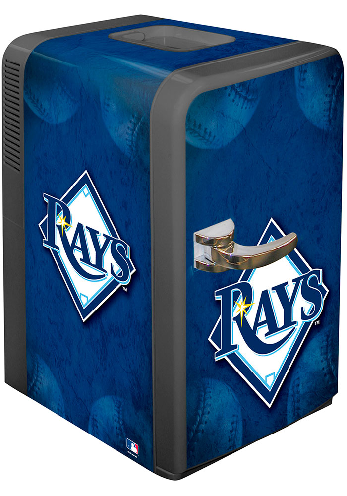 Tampa Bay Rays Blue Portable Party Refrigerator - Image 1