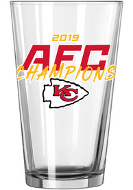 Kansas City Chiefs 2019 AFC Champions 16oz Pint Glass