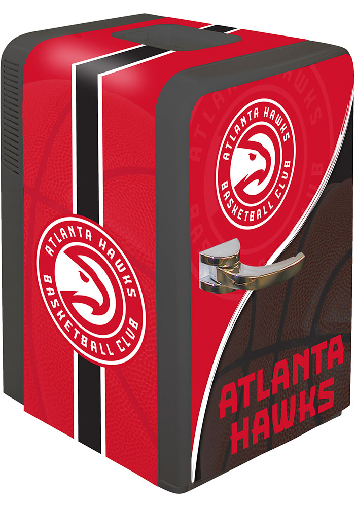 Atlanta Hawks Red Portable Party Refrigerator - Image 1