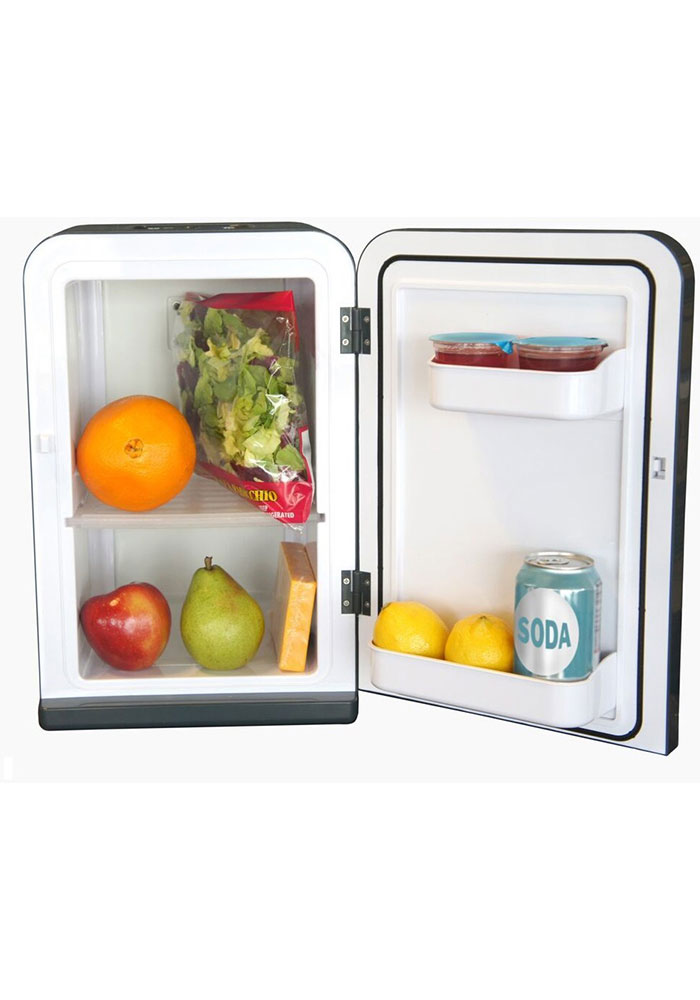Atlanta Hawks Red Portable Party Refrigerator - Image 2