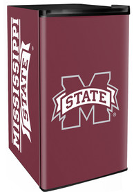 Mississippi State Bulldogs Maroon Counter Height Refrigerator