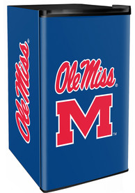 Ole Miss Rebels Blue Counter Height Refrigerator
