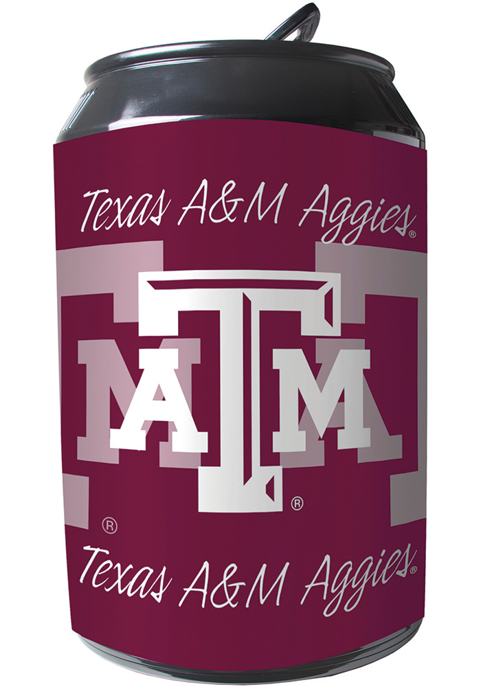 Texas A&M Aggies Maroon Portable Can Refrigerator - Image 1
