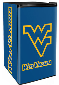 West Virginia Mountaineers Blue Counter Height Refrigerator
