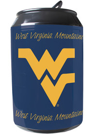 West Virginia Mountaineers Blue Portable Can Refrigerator