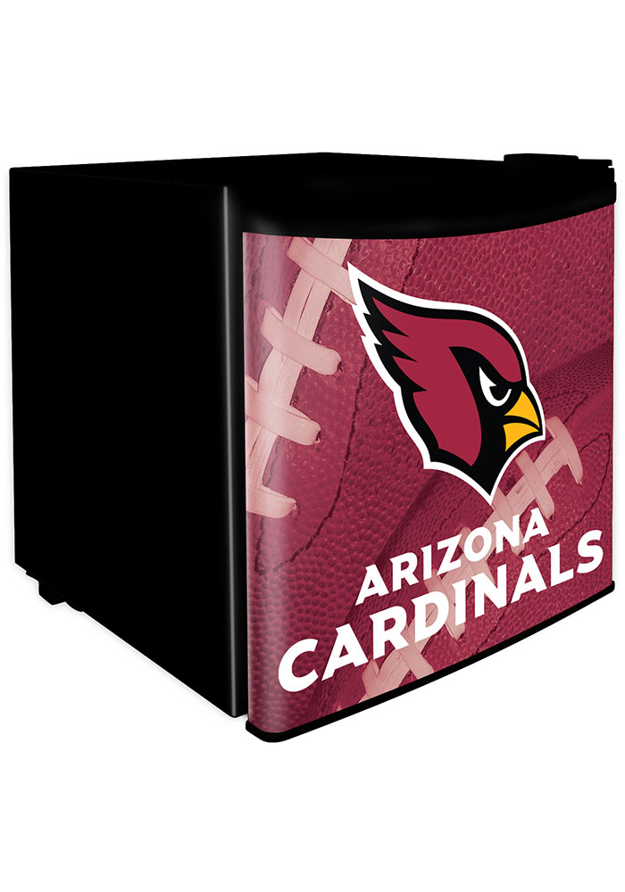 Arizona Cardinals Red Dorm Room Refrigerator - Image 1