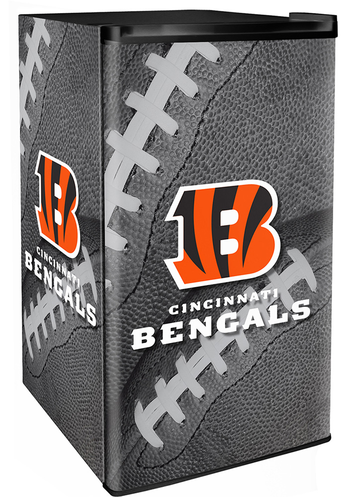 Cincinnati Bengals Black Counter Height Refrigerator - Image 1