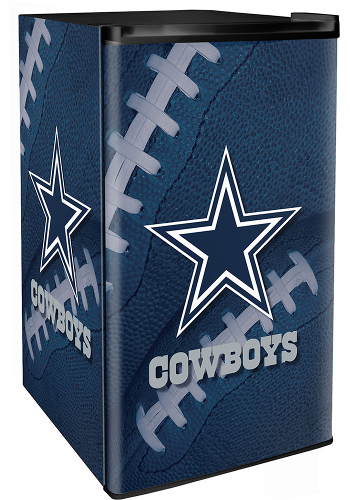 Dallas Cowboys Navy Blue Counter Height Refrigerator - Image 1