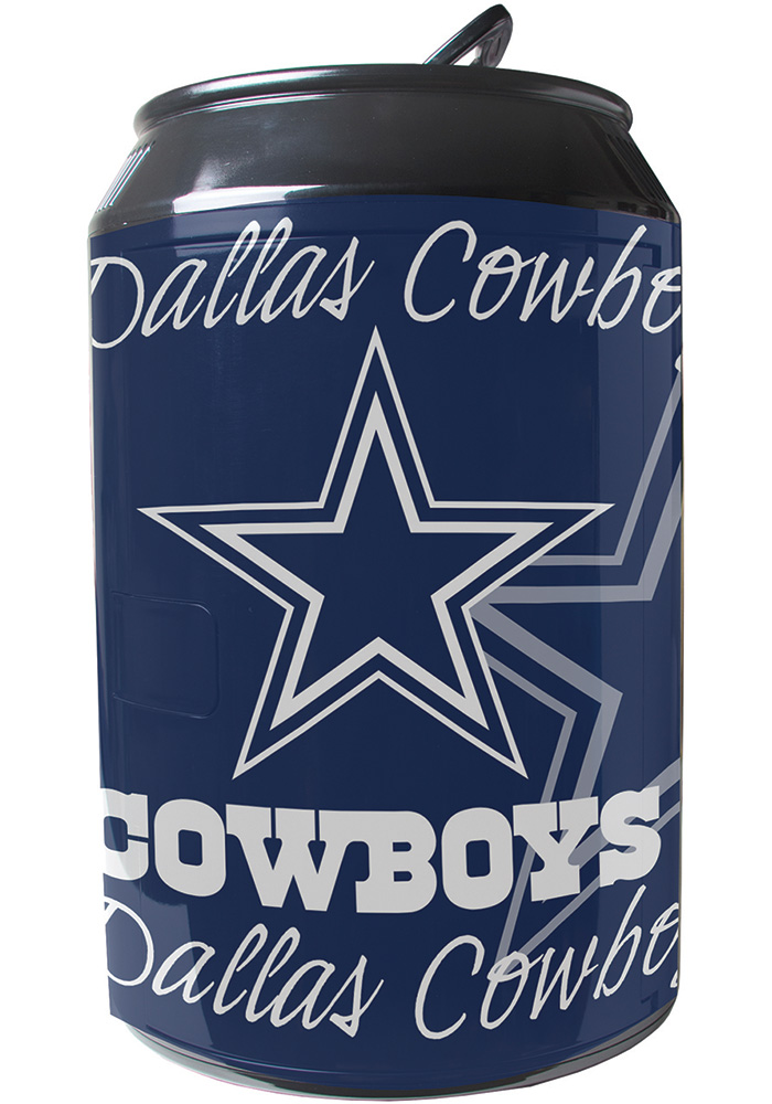 Dallas Cowboys Navy Blue Portable Can Refrigerator - Image 1